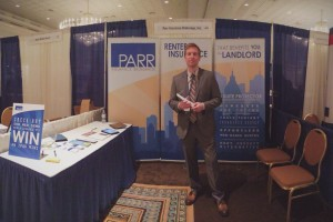 Mark Lipski at the 2014 Trade Show and Education Conference.